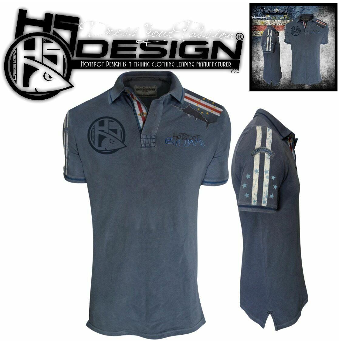 Hot Spot Design polo t-shirt Big Juego  Cabo verde  marca en liquidación de venta