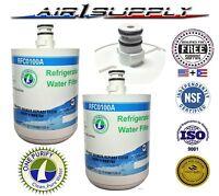 Sub For Lg Premium Adq72910901, Adq72910902, Refrigerator Water Filter 2 - Pack