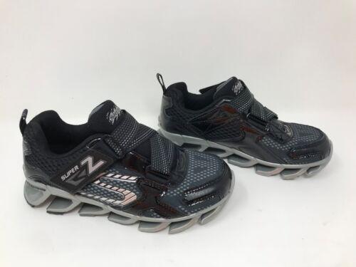 Black//Silver C15 *New Boys Toddler Skechers 95570L Mega Blade 2.0 Sneakers
