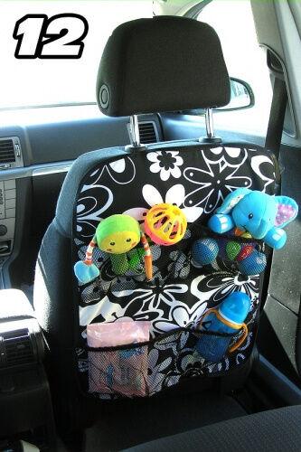 Autositztasche  Rückenlehnenschutz Sitzschoner Auto Organizer 12