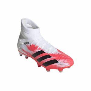 Adidas-Hommes-Predator-20-3-SG-Chaussure-de-football-cames-Chaussures-Blanc-Noir-Rouge