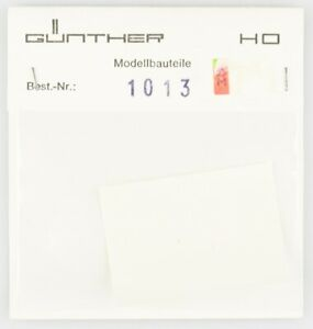 Gunther-modele-Pieces-Piste-h0-1013-Schiebebild-Arc-en-blanc-blanc-NEUF-dans-sa-boite-TOP