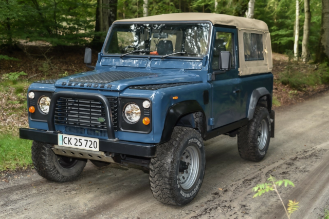 Land Rover Defender, 2,5 Tdi 110