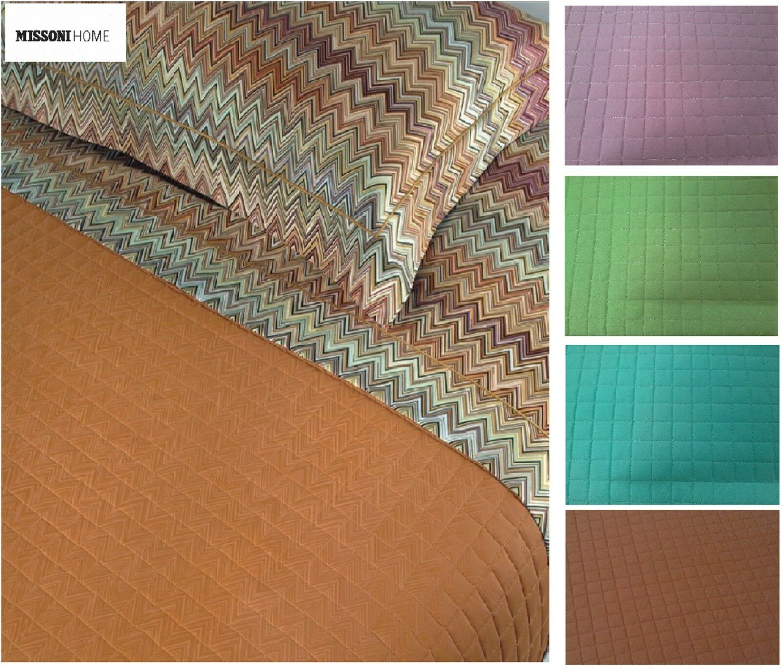 Quilted Bedspread - Quilt, Quilt. MISSONI HOME - JO. Double