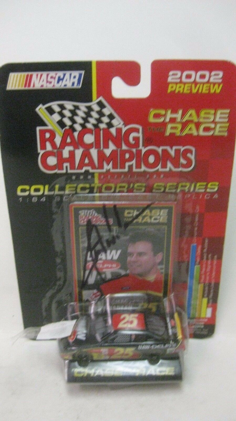 Nascar Chase The Race 2002 Jerry Nadeau Autographed Chevy 164 Diecast NEW dc1386