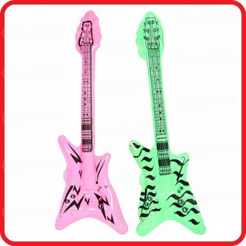 INFLATABLE BLOW-UP TOY-GUITAR-SAXOPHONE--ROCK /& ROLL-MUSIC INSTRUMENTS-COSTUME