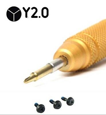 "Y1 TRI-WING BATTERY SCREW SET W//OPEN TOOL FOR MACBOOK PRO UNIBODY 15/"" A1286"