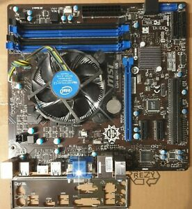Bundle MSI B85M-E45 LGA 1150 +Core i3 4330 4 x 3,50 GHz 4nd Gen.,TOP ZUSTAND