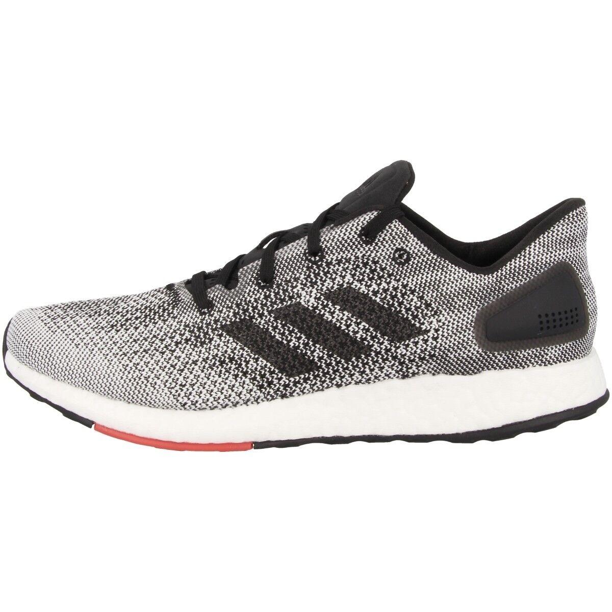 Adidas pureboost DPR Men zapatos caballero zapatillas cortos negro blancooo s80993