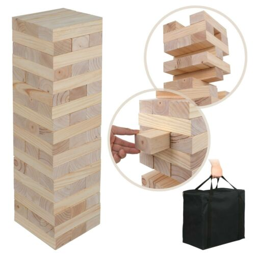 Giant Toppling Timbers Party Game Toy No Print Version Premium Wood  Indoor
