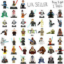 Star Wars The Clone Wars Minifigure Clone Trooper Boba Darth Sidious Mini Figure