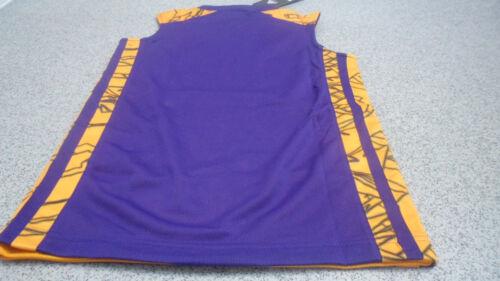 G73305 Adidas NBA Junior Kids Los Angeles Reversible 2 in 1 Basketball Tank Top