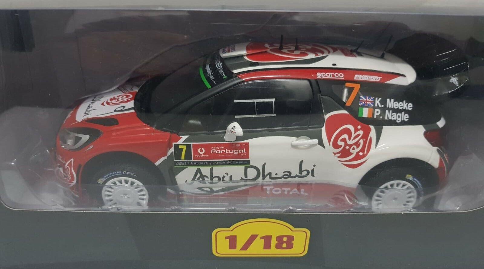 Citroën DS3  WRC 2016 K. Meeke Altaya 1 18