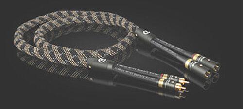 Viablue NF-S1 Quattro-Silver HighEnd Adapterkabel Cinch auf XLR male Stereo
