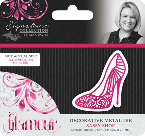 Sara Signature GLAMOUR COLLECTION Cutting Dies By Crafters Companion FREE UK P/&P