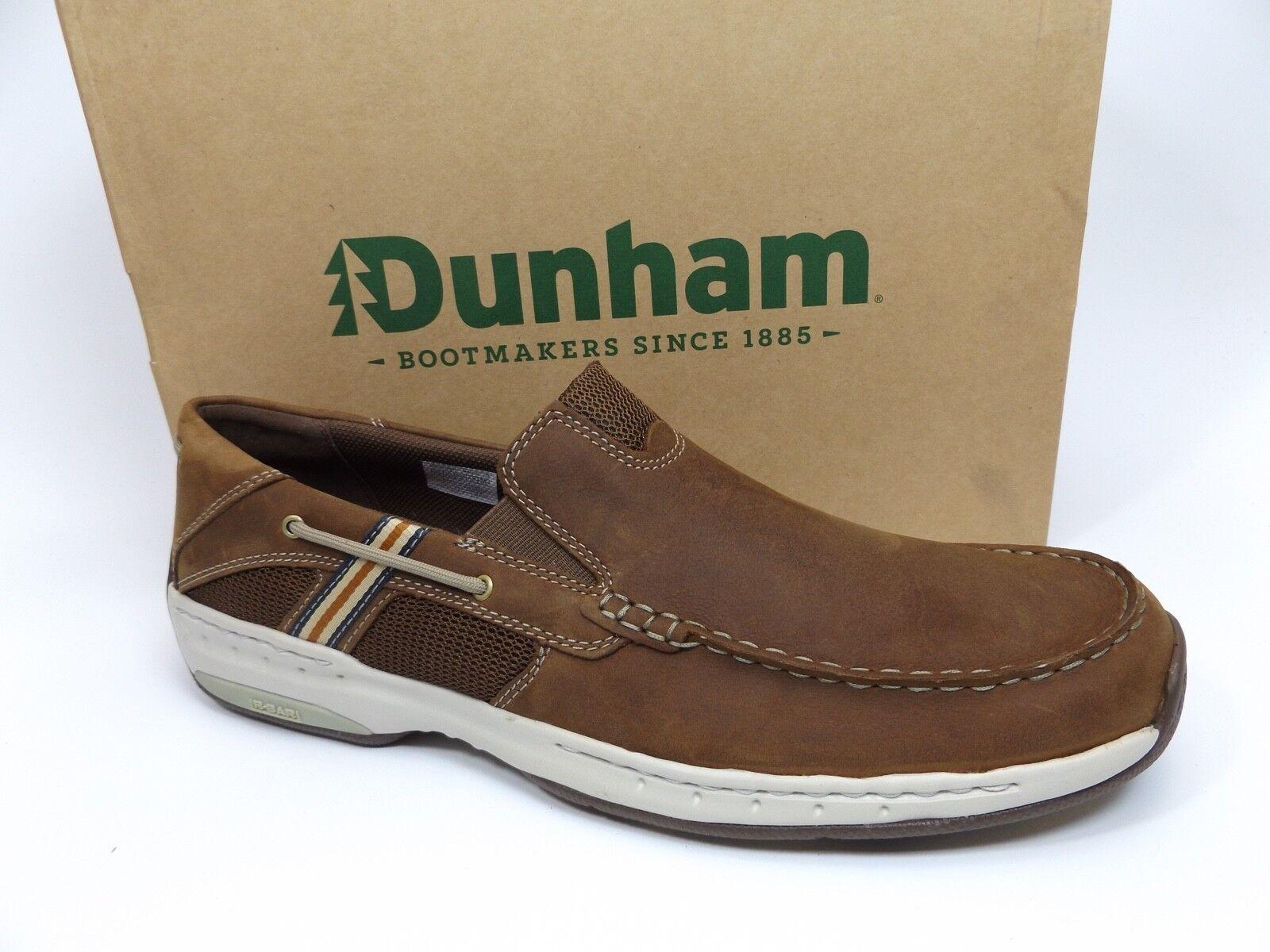 834963c6c868 Dunham Men s Windward Brown Full Grain Leather SZ 14.0 BM PRE OWNED ONCE