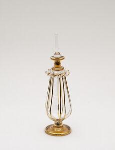 Flacone Fiaschetta A Profumo Olio IN Vetro Souffle D'Egitto Peterandclo CA8