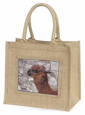 Südamerikanisch Lama Große Natürliche Jute-einkaufstasche Weihnachten Ide,