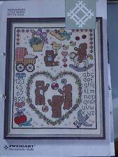 Leaflet / Stickvorlagen: Bärenkinder  - Zweigart Creation