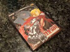 Full metal Alchemist Part 1 DVD Box Set 3 DVDS English Japanese Fullmetal