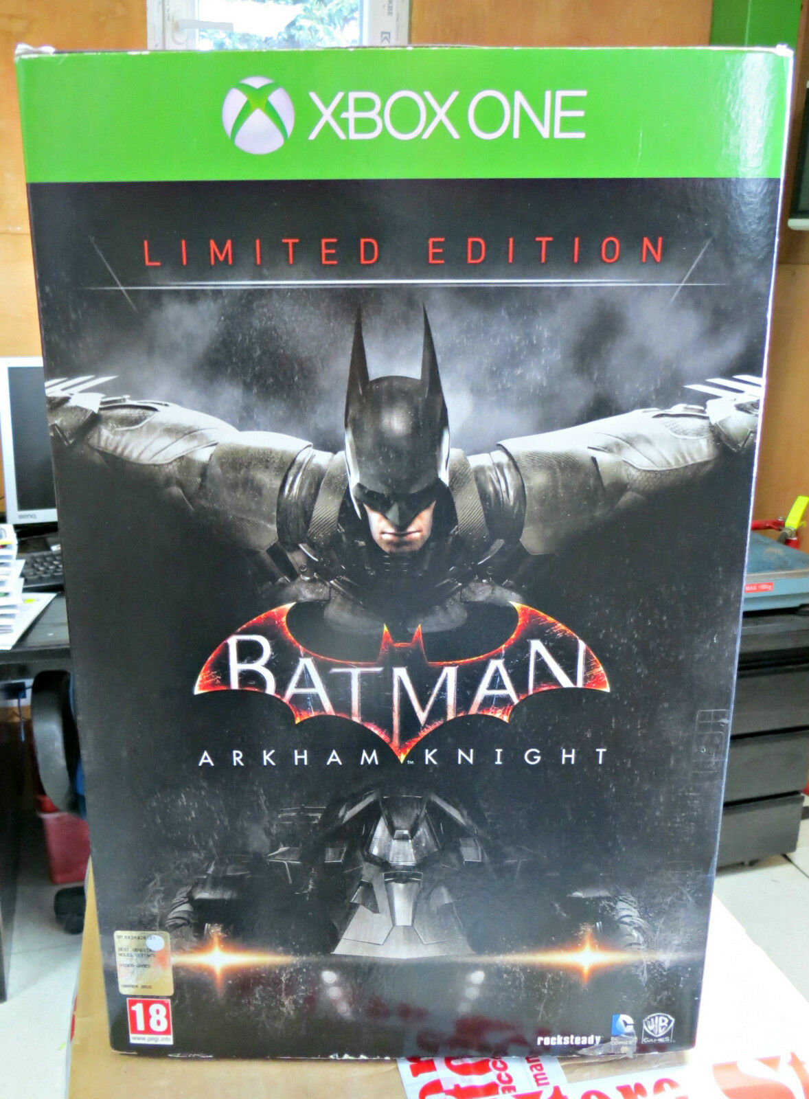 BATMAN ARKHAM KNIGHT LIMITED EDITION XBOX SEALED ONE NUOVO ITALIAN SEALED XBOX NEW XONE XBOX a333a7