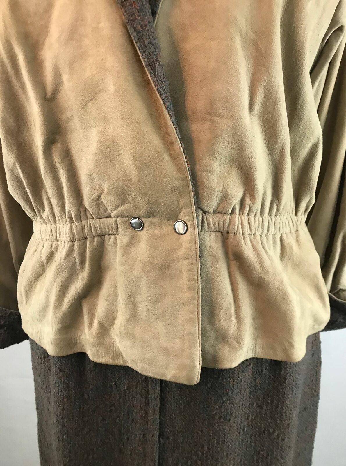 Vintage Bonnie Cashin Leather Jacket and Skirt Se… - image 7