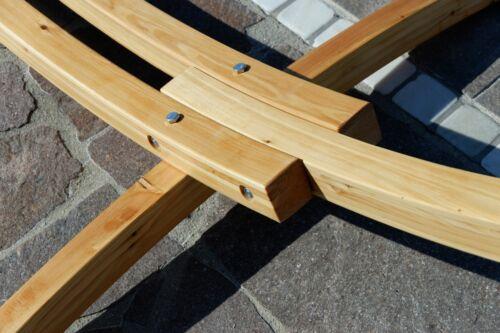 Stab Hängematte HM3-BLA-LIM-GRAU 320cm Hängemattengestell Gestell Holz Lärche