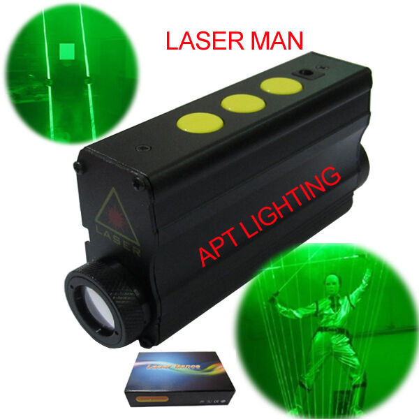2pcs 532nm green Laser stage show rechargeable battery Disco Party Double beam