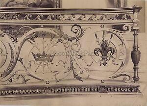Chateau-Da-Chantilly-Ferro-Battuto-Francia-Vintage-Ca