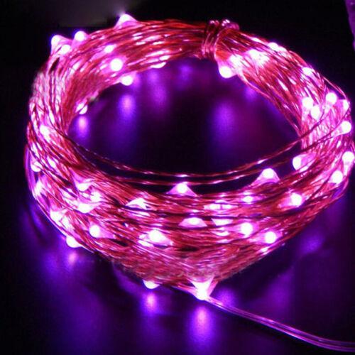 20 LED Wine Bottle Copper Wire Fairy String Light Bulb Cork Festival Party Decor