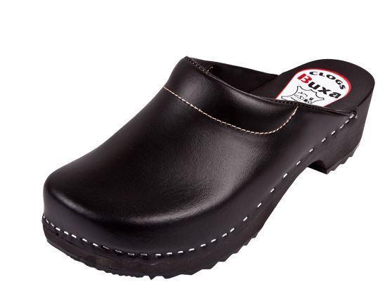 Wooden clogs nero colore Swedish style.       US scarpe Dimensione (Donna ) 64bf25