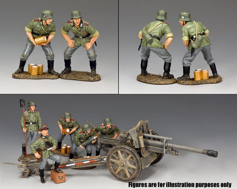 Re & Paese Ww2 Esercito Tedesco Wh065 Pistola Equipaggio MIB
