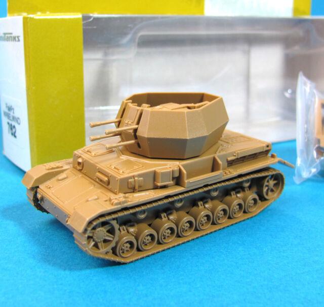 Minitanks H0 762 Flak-Panzer WIRBELWIND EDW WWII HO 1:87 tank Roco Wehrmacht
