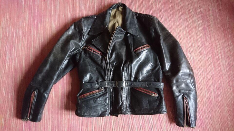 Antik motorcykel jakke