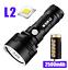 Torche-Puissante-Rechargeable-USB-Lampe-De-Poche-LED-L2-XLM-L2-P70-Chasse-Nuit miniature 16