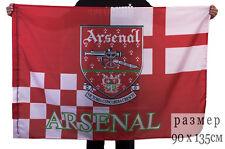 Flag football club Arsenal (G.B.) for football fans & Champions League 90х135 cm