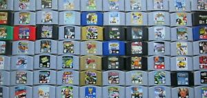 *GOOD* Nintendo 64 N64 Authentic PICK Retro Games Zelda Super Mario Kart Banjo