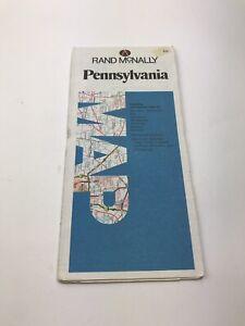 Vintage-1980-039-s-Rand-McNally-Pennsylvania-Travel-Road-Map