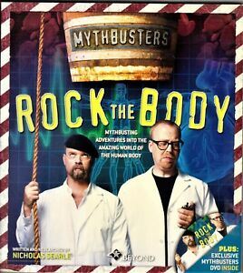 MYTHBUSTERS-ROCK-THE-BODY-BOOK-WITH-DVD-AS-NEW-CONDITION