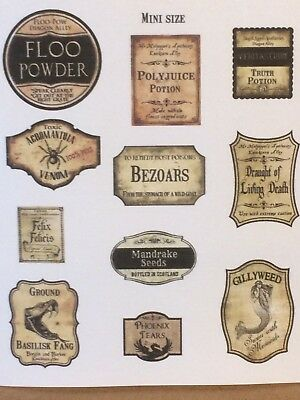 It's just a photo of Sly Harry Potter Potion Labels Printable
