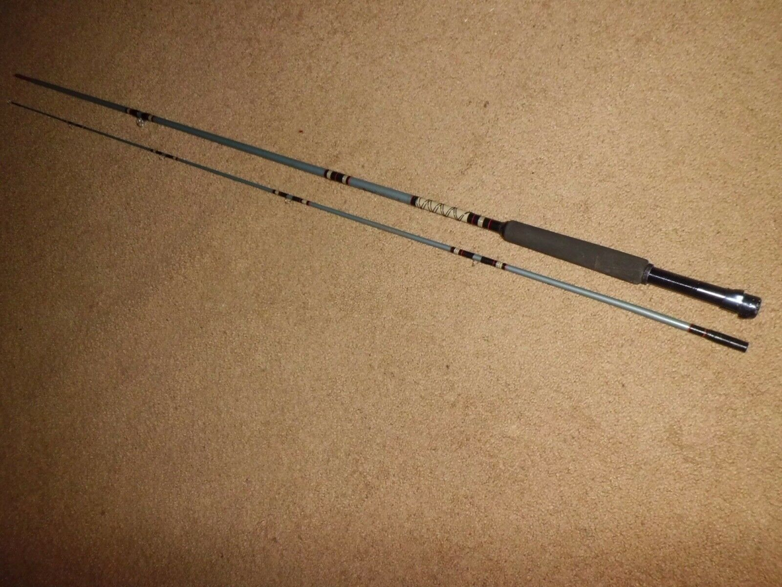 Vintage Berkley Buccaneer  B40-8' Fly Rod- line 7  ultra-low prices