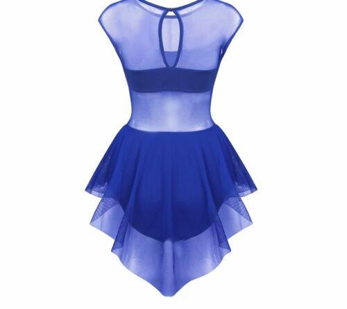 Contemporary Lyrical Dance Costume.Competition,Festival.Modern.Leotard Dress.UK