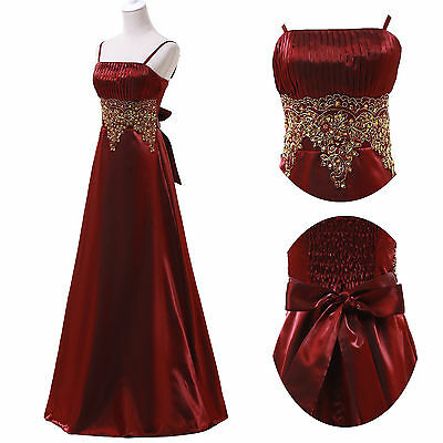 Vintage Mother of the Bride Long Prom Dresses Formal Party Evening Wedding Gown