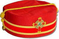 Masonic K.c.c.h. (kcsjc) Scottish Rite Cap