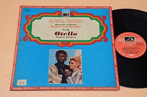 OTELLO-MIRELLA-FRENI-LP-LIRICA-ITALY-PRESS-LA-VOCE-DEL-PADRONE-AUDIOFILI-EX