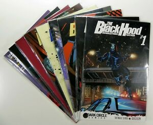 DARK-CIRCLE-Comics-BLACK-HOOD-1-2-3-5-LOT-VARIANTS-Swierczynski-Ships-FREE