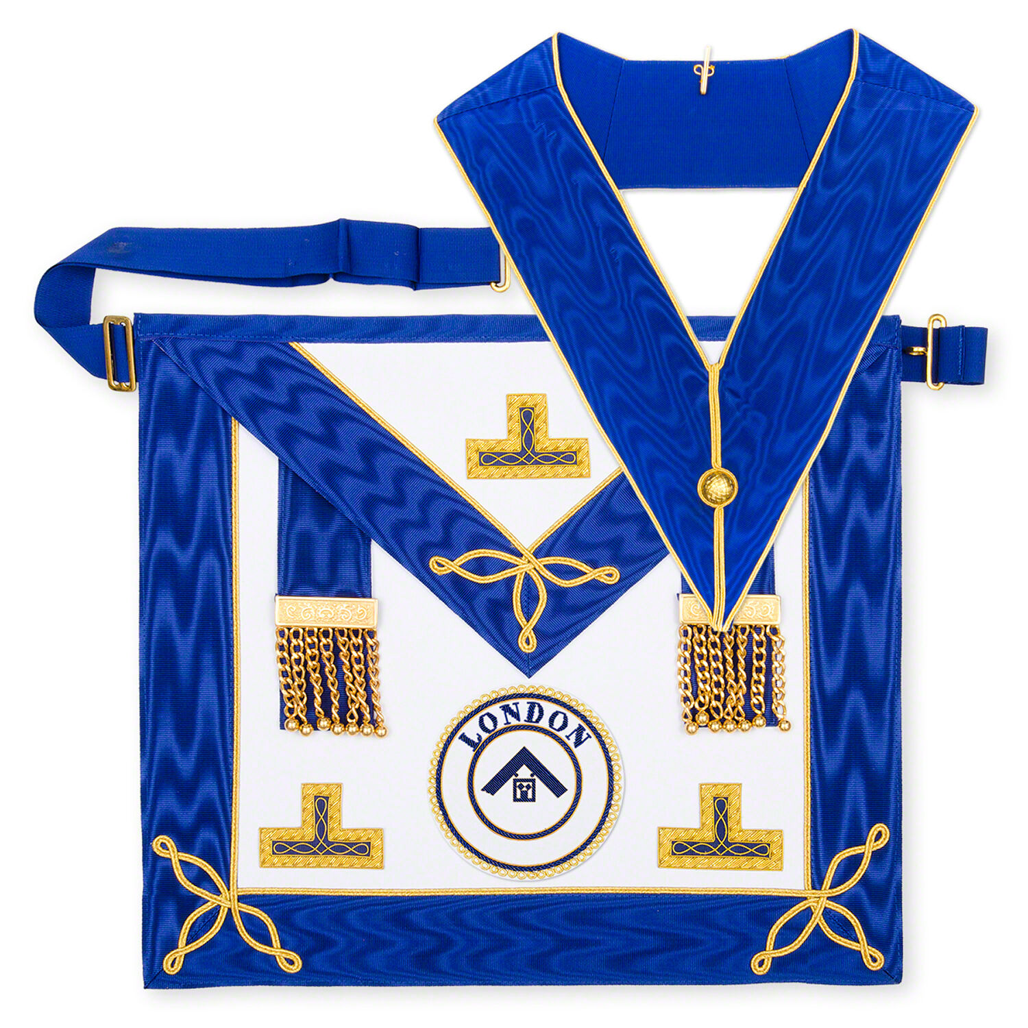 High Quality Hand Made Craft Provincial Undress Apron And Collar lambskin