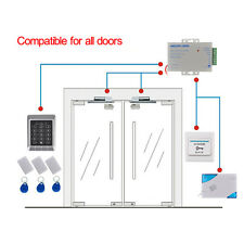 Complete RFID Door Access Control System Kit + Magnetic Lock + Power Supply +