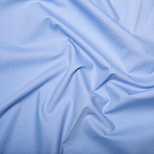 "0001 100/% Cotton Poplin Fabric Plain 45/"" width"