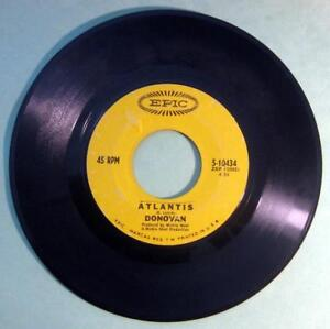 DONOVAN-Atlantis-45-rpm-Record-1968